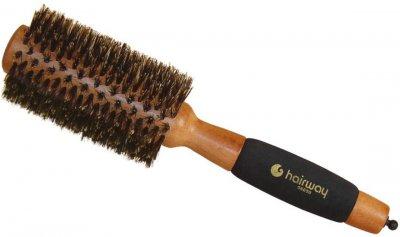 Брашинг сплошной Hairway V-образная 100% кабанья щетина с разделителем 65 мм (06051) (4603911000518)
