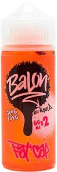 Рідина для електронних сигарет Balon Fat Cap 120 мл (Персик + диня)