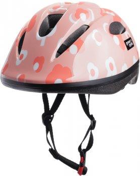 Велосипедний дитячий шолом Green Cycle MIA 50 — 54 см Рожевий (HEL-86-25)