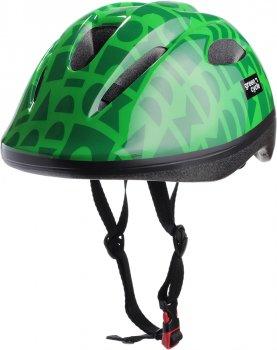 Велосипедний дитячий шолом Green Cycle Flash 50 — 54 см Зелений (HEL-15-94)