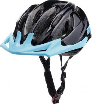 Велосипедний дитячий шолом Green Cycle Rowdy 50 — 56 см Чорний (HEL-39-61)