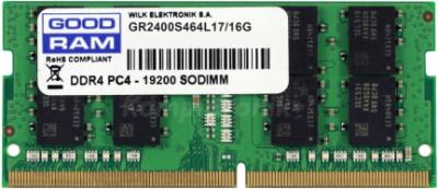 Оперативна пам'ять sodimm GoodRam DDR4 16Gb 2400Mhz (GR2400S464L17/16G) (6397240)