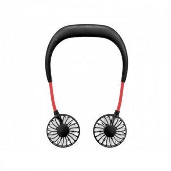 Вентилятор на шею Wearable Sports Fan HLV ZY-A1 Black