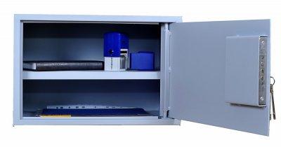 Сейф мебельный MetallSafe-250 Gray