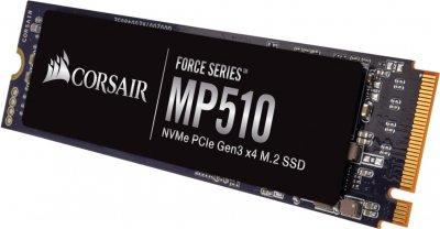 Corsair Force Series MP510 480GB NVMe M.2 2280 PCIe 3.0 x4 3D NAND TLC (CSSD-F480GBMP510B)