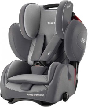 Автокрісло RECARO Young Sport Hero Aluminium Grey (88014180050)