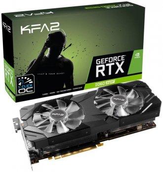 Відеокарта KFA2 GeForce RTX 2060 Super EX - 1Click OC (26ISL6MPX2EK)