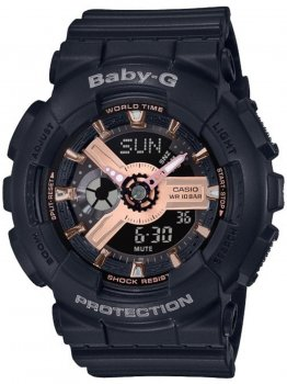 Годинник Casio BA-110RG-1AER Baby-G 43mm 10ATM