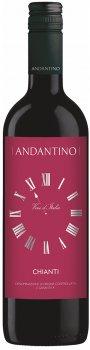 Вино Andantino Chianti красное сухое 0.75 л 12.5% (8008530053277)