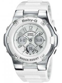 Годинник CASIO BGA-110-7BER Baby-G 40mm 10ATM