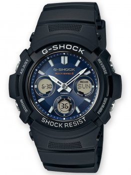 Годинник Casio AWG-M100SB-2AER G-Shock 46mm 20ATM