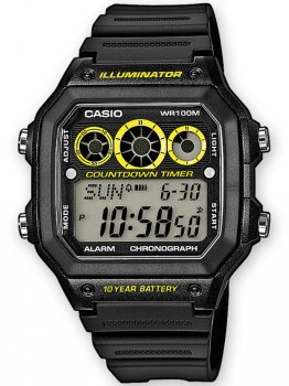Годинник CASIO AE-1300WH-1AVEF Collection 10ATM 42mm