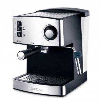Кофемашина с капучинатором LEXICAL LEM-0602 850W (rew-LEM-0602)