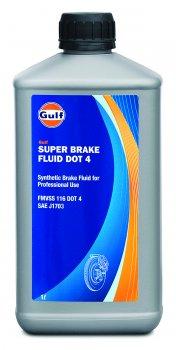 Гальмівна рідина Gulf Super Brake Fluid DOT 4 1 л (640407GU00)