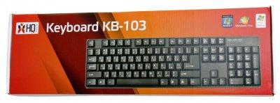 Дротова клавіатура HQ-Tech KB-103 USB Black