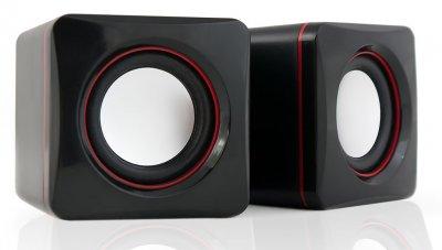 HQ-Tech HQ-SP194U 2.0 USB живлення Black&Wine
