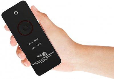 Міні бездротова клавіатура+пульт (для Smart TV/Android) Riitek Rii mini i6 (RT-MWK06 EN) 2.4 G LED IR Remote тачпад англійська