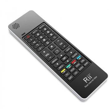 Мини клавиатура беспроводная+пульт (для Smart TV/Android) Riitek mini i13 (RT-MWK13 EN[2.4G]) 2.4G, Airmouse ИК пульт на 8 устройств, микрофон, Skype Phone