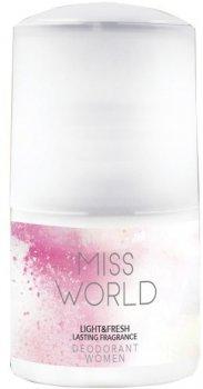 Парфюмированный дезодорант для женщин Vittorio Belucci Miss World 50 мл (5901468904297)