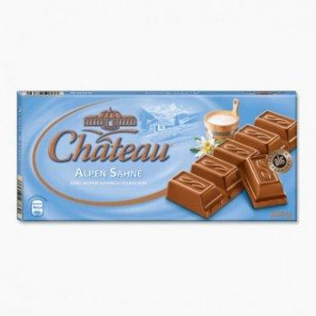 Шоколад молочный Chateau Alpen Sahne 200 г