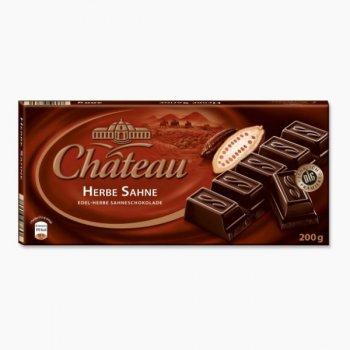 Шоколад черный Chateau Herbe Sahne 200 г