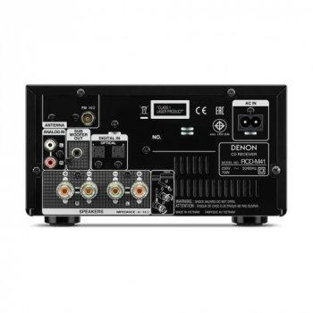 CD-ресивер с Bluetooth Denon RCD-M41 Black