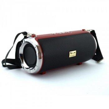 Портативна бездротова блютуз колонка Xtreme Golon Atlanfa RX-1888BT Червона 20 ВТ потужна з підсвічуванням флешкою і радіо, Bluetooth дисплей USB (46971 I)