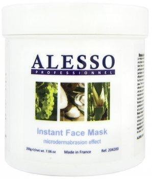 Растворимая маска для лица Alesso Микродермабразия 200 г (3273629204433)