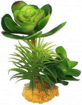 Искусственное растение Yusee Толстянка молодая 16x14x14 см (ys17927)