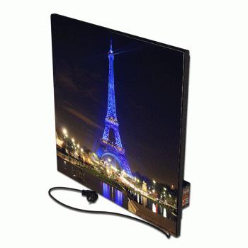 Теплова інфрачервона опалювальна панель керамічний обігрівач FLYME 450Р-diz-2 дизайнерська