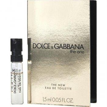 Пробник Туалетная вода для женщин Dolce&Gabbana The One 1.5 мл (3423473033301)