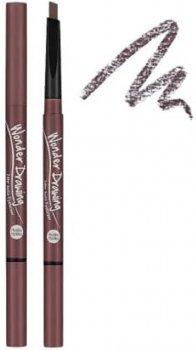 Автоматичний олівець для брів Holika Holika Wonder Drawing 24hr Auto Eyebrow № 04 Red Brown з щіточкою 0.05 г (8806334347703)