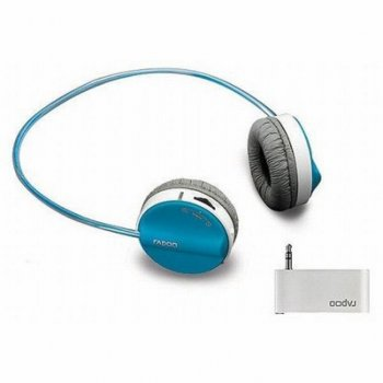 Наушники Rapoo H3070 Blue wireless (H3070 Blue)