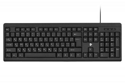 Комплект (клавіатура + мишка) 2E MK401 USB Чорний (2E-MK401UB)