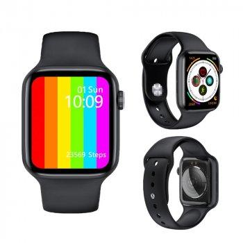 Смарт годинник Розумні годинник Smart Tech Innovation W26 Pro Телефон Тонометр ЕКГ Термометр Лічильник калорій Black