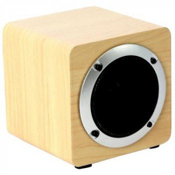 Акустическая система OMEGA OG61W Bluetooth 5W Wooden Brown (OG61W)