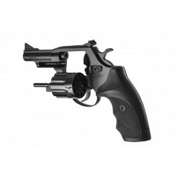"""Револьвер флобера Alfa mod.431 3"""" 4 мм №7. Воронение. Пластик"""