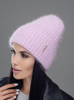 Женская Шапка Leks-Jolie Блюз Размер (53-57) Цвет (сирень)