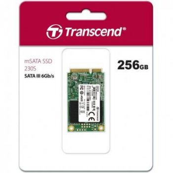Накопитель SSD mSATA 256GB Transcend (TS256GMSA230S)