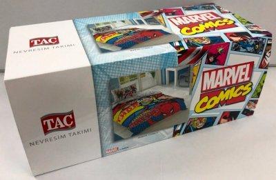 Комплект постельного белья TAC Ранфорс Disney Marvel Comics 160x220 см (TAC60212618)