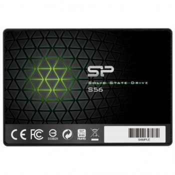 "Накопичувач SSD SiliconPower 256GB 2.5"" SATAIII (SP256GBSS3A56B25)"