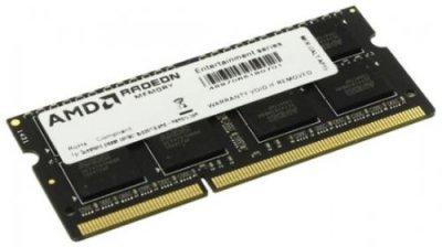 Оперативна пам'ять AMD SODIMM DDR3L-1600 8192MB PC3L-12800 R5 Performance Series (R538G1601S2SL-U)