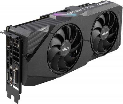 Відеокарта Asus GeForce RTX2060 SUPER 8GB GDDR6 DUAL EVO V2 (DUAL-RTX2060S-A8G-EVO-V2)