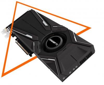 Відеокарта Gigabyte GeForce RTX2080 Ti TURBO OC 11G (GV-N208TTURBO_OC-11GC)