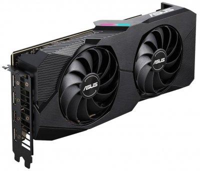 Відеокарта Asus Radeon RX 5600 XT 6GB DDR6 EVO (DUAL-RX5600XT-T6G-EVO)