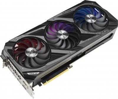Asus PCI-Ex GeForce RTX 3090 ROG Strix 24GB GDDR6X (384bit) (1695/19500) (2 x HDMI, 3 x DisplayPort) (ROG-STRIX-RTX3090-24G-GAMING)