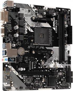 Материнская плата ASRock A320M-DVS R4.0 (sAM4, AMD A320, PCI-Ex16)