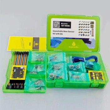 Набор Keyestudio Uno R3 + комплект датчиков 30шт для Arduino