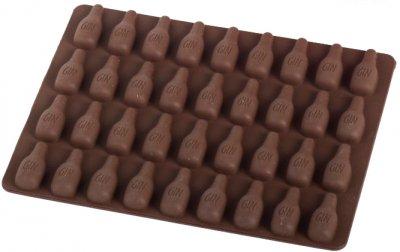 Силиконовая форма для шоколада MYS Бутылка Коричневая (MYS-48259)