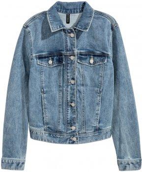 Джинсовая куртка H&M Divided 04614735 Светло-голубой